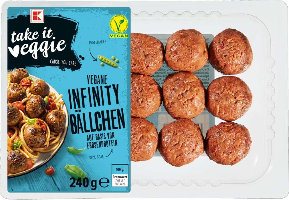 Abbildung des Sortimentsartikels K-Take it Veggie Bällchen vegan 240g