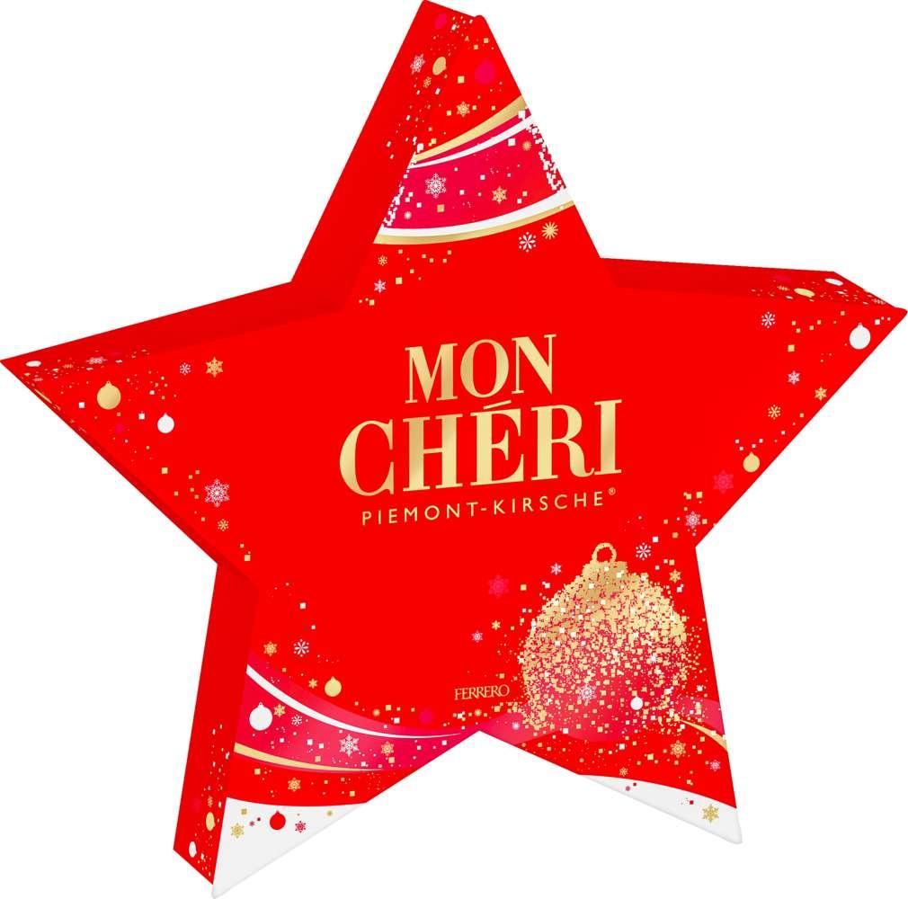 Abbildung des Sortimentsartikels Ferrero Mon Cheri Stern 147g