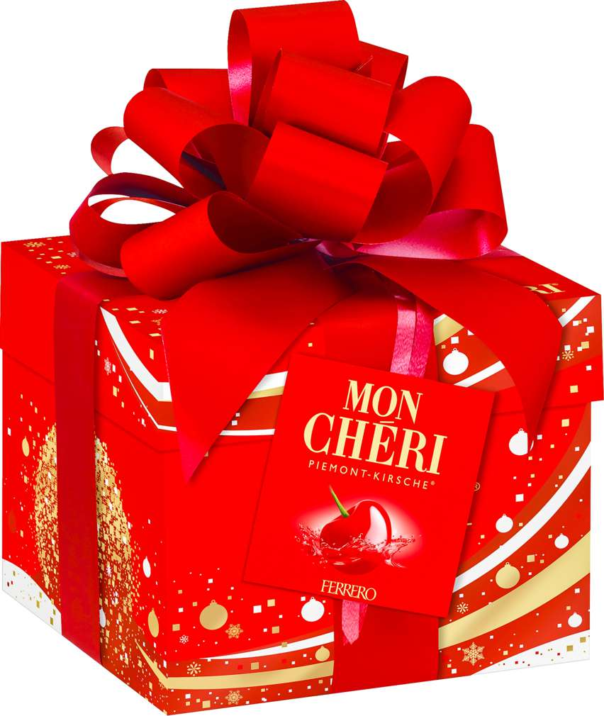 Abbildung des Sortimentsartikels Ferrero Mon Cheri Geschenkpackung 283g