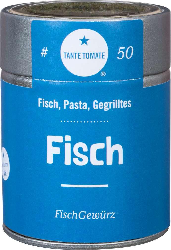 Abbildung des Sortimentsartikels Tante Tomate Fischgewürz 45g