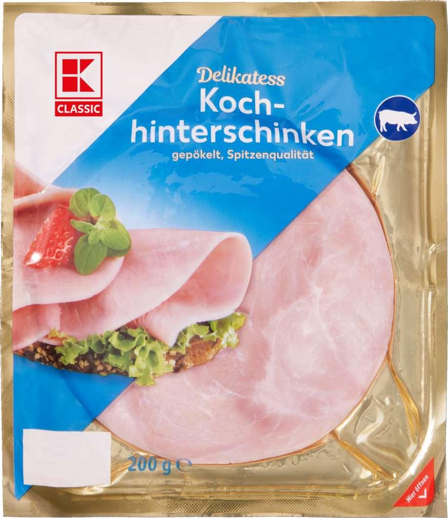 Abbildung des Sortimentsartikels K-Classic Kochhinterschinken 200g