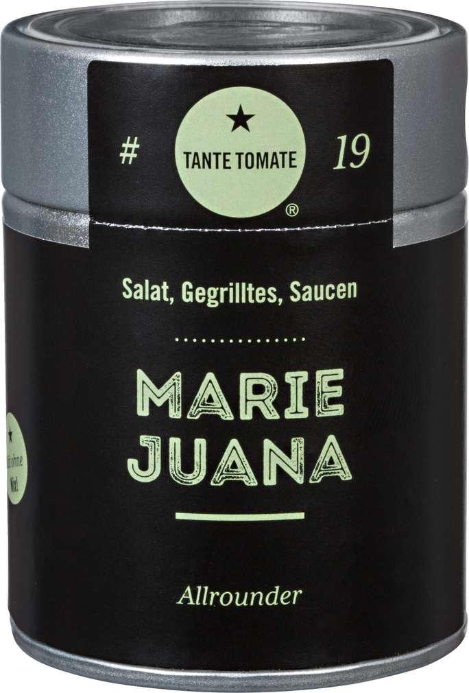 Abbildung des Sortimentsartikels Tante Tomate Marie Juana Gewürzzubereitung 45g