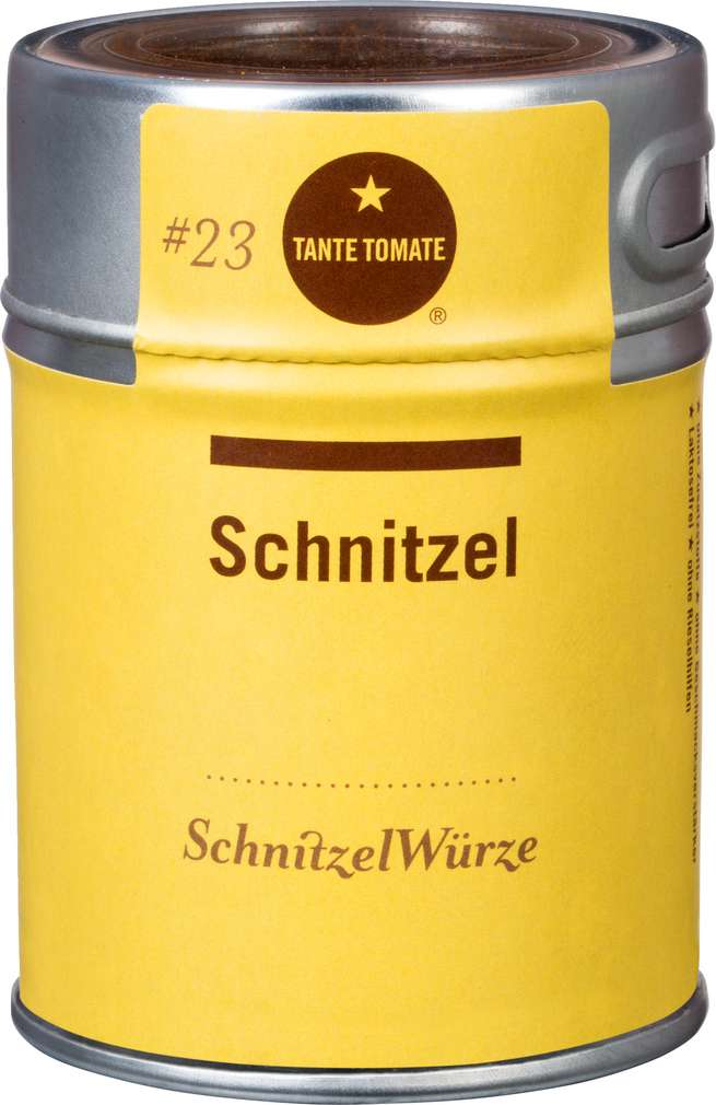 Abbildung des Sortimentsartikels Tante Tomate Schnitzel Würzmischung 55g