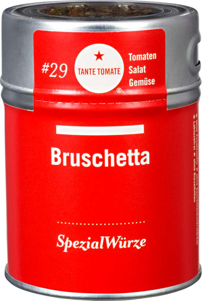Abbildung des Sortimentsartikels Tante Tomate Bruschetta Würzmischung 40g