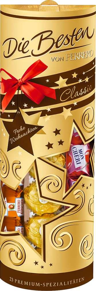 Abbildung des Sortimentsartikels Ferrero Die Besten Geschenkpackung 242g