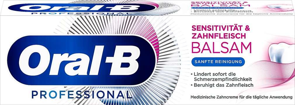 Abbildung des Sortimentsartikels Oral-B Zahncreme Sensitivität & Zahnfleisch Balsam 75ml