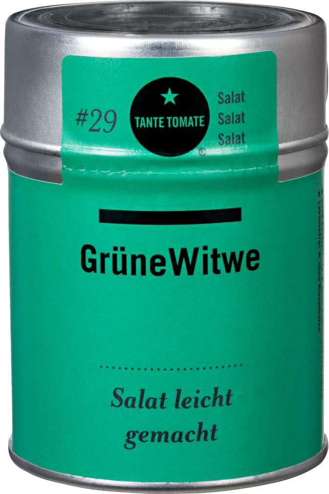 Abbildung des Sortimentsartikels Tante Tomate Grüne Witwe Salatwürze 45g