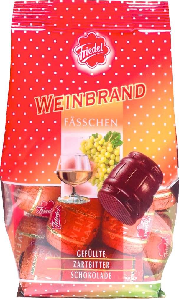 Abbildung des Sortimentsartikels R+K Friedel Weinbrandfässchen 125g