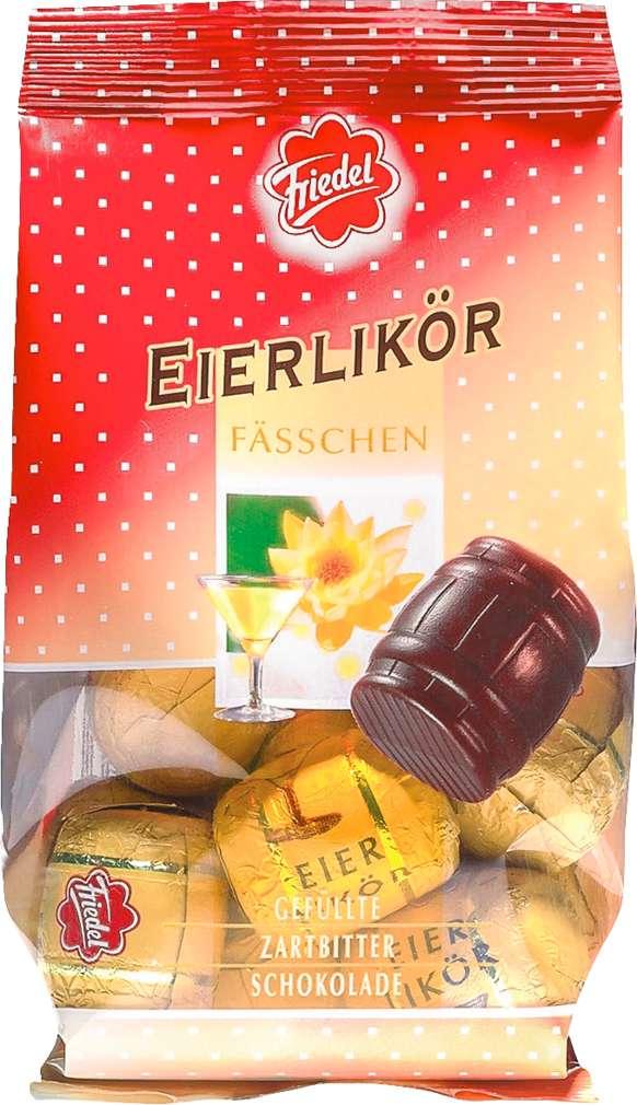 Abbildung des Sortimentsartikels R+K Friedel Eierlikörfässchen 125g