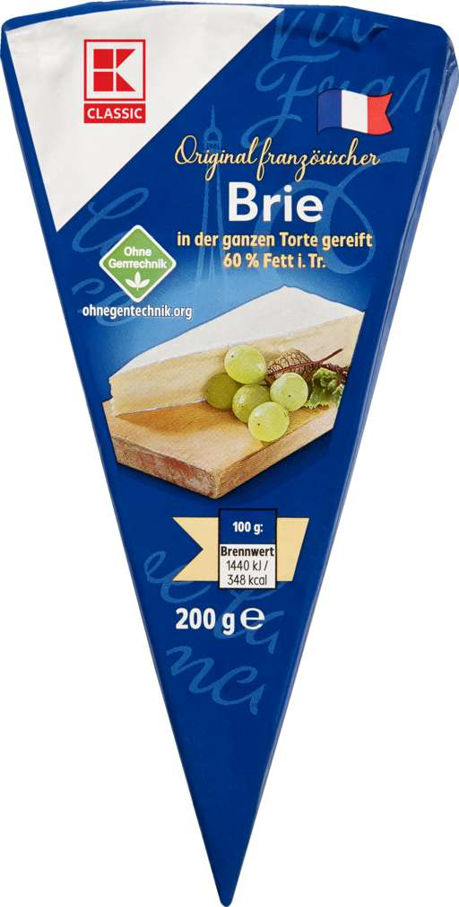 Abbildung des Sortimentsartikels K-Classic Französische Briespitze 60% Fett i.Tr. 200g