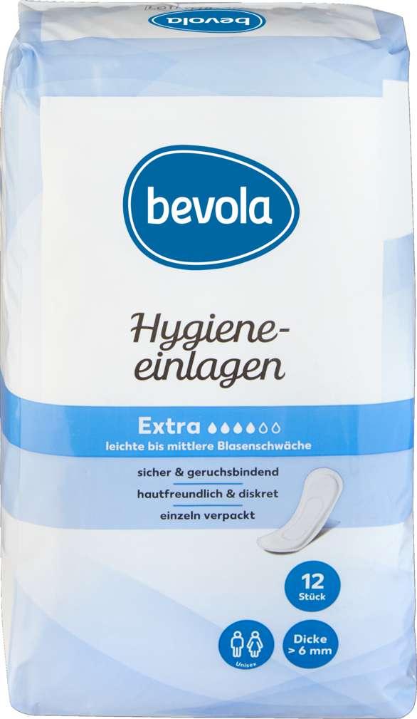 Abbildung des Sortimentsartikels Bevola Hygieneeinlagen Extra 12 Stück