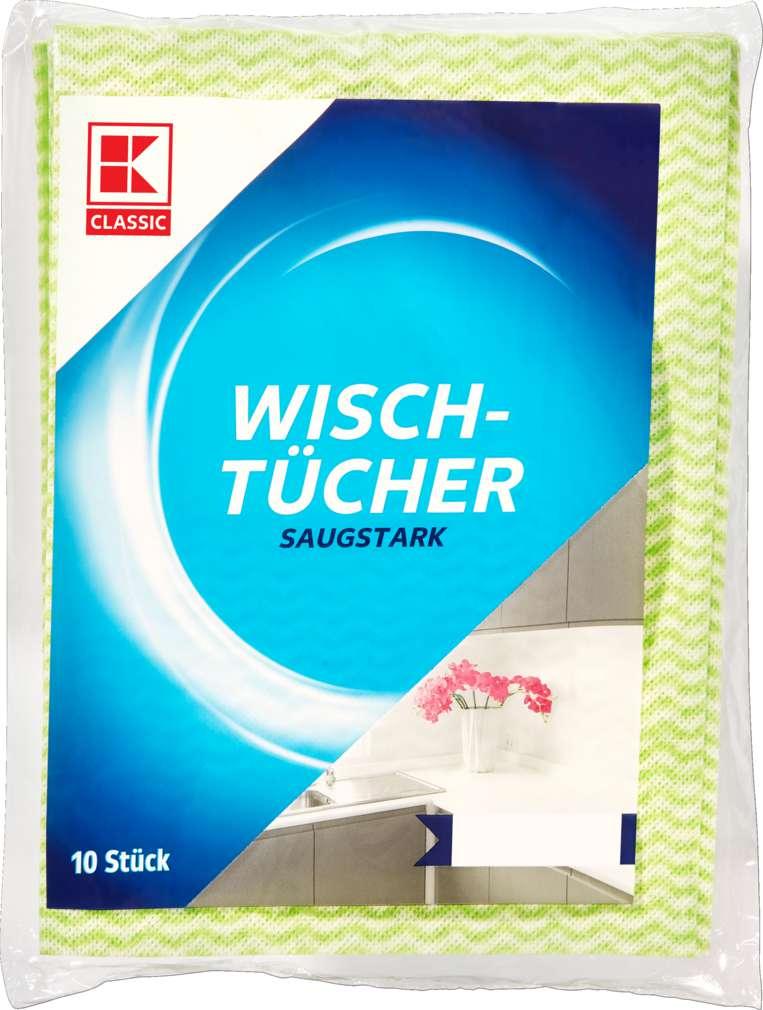 Abbildung des Sortimentsartikels K-Classic Wischtuch 37x51cm 10 Stück