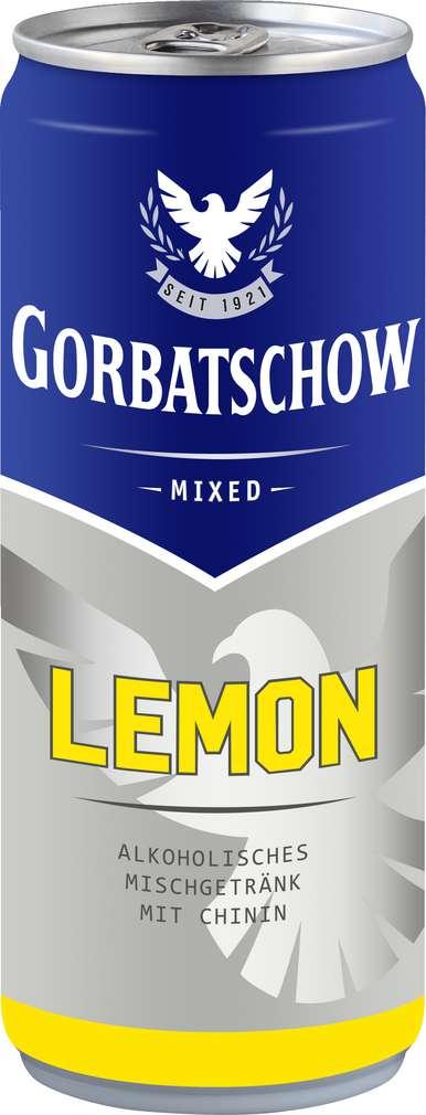 Abbildung des Sortimentsartikels Wodka Gorbatschow & Lemon 0,33l