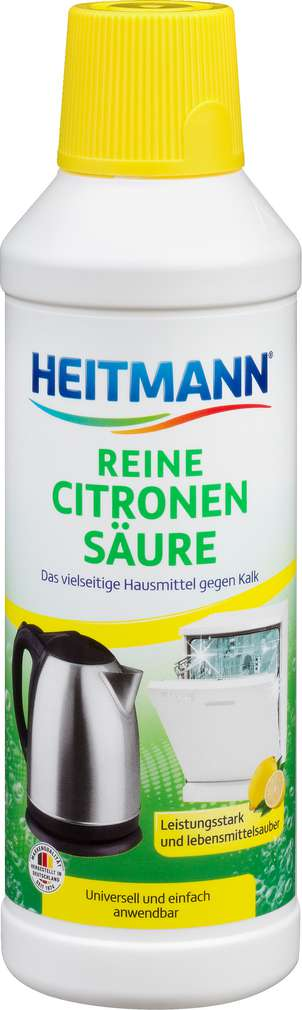 Abbildung des Sortimentsartikels Heitmann Citronensäure Pure 500ml