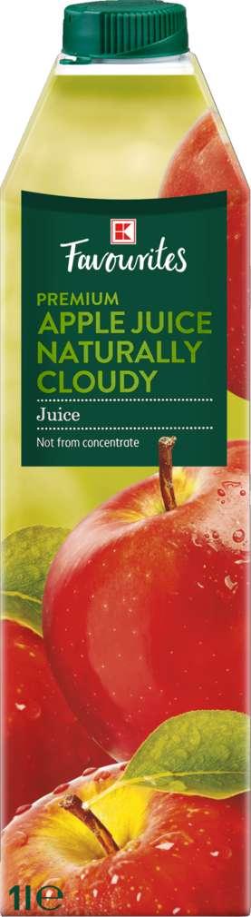 Abbildung des Sortimentsartikels K-Favourites Apfelsaft naturtrüb 1,0l