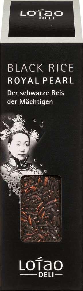 Abbildung des Sortimentsartikels Lotao Bio-Reis Royal Pearl Black 300g