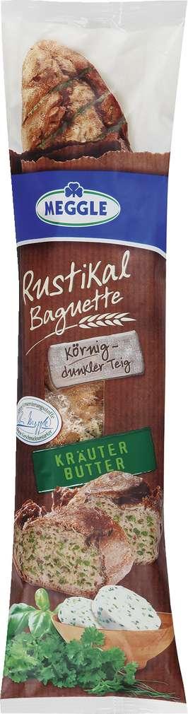 Abbildung des Sortimentsartikels Meggle Rustikal Baguette Kräuter Butter 160g