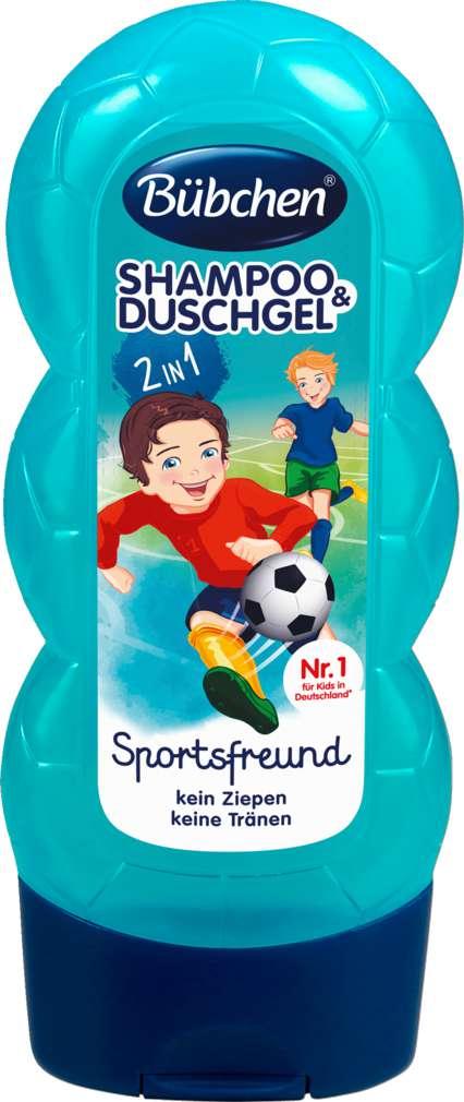 Abbildung des Sortimentsartikels Bübchen Kids Shampoo & Shower Sportsfreund 2in1 230ml