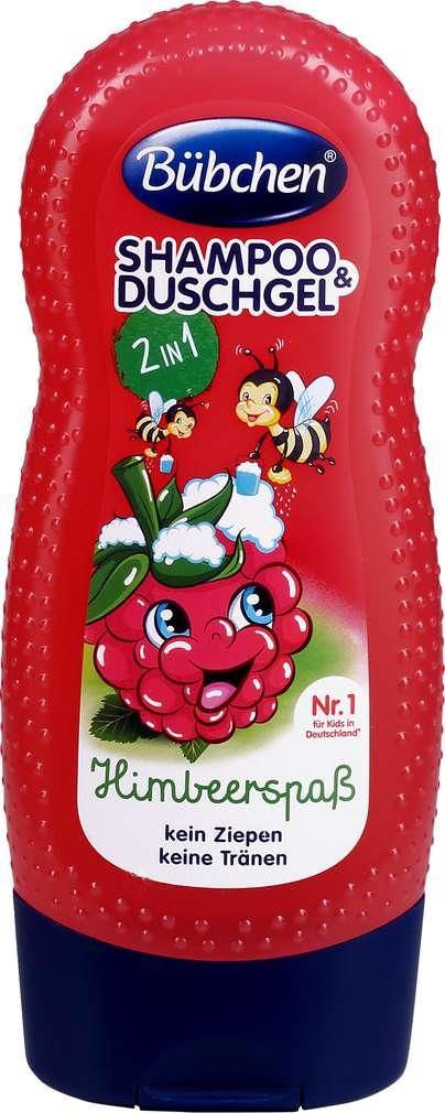 Abbildung des Sortimentsartikels Bübchen Kids Shampoo & Shower Himbeerspaß 230ml
