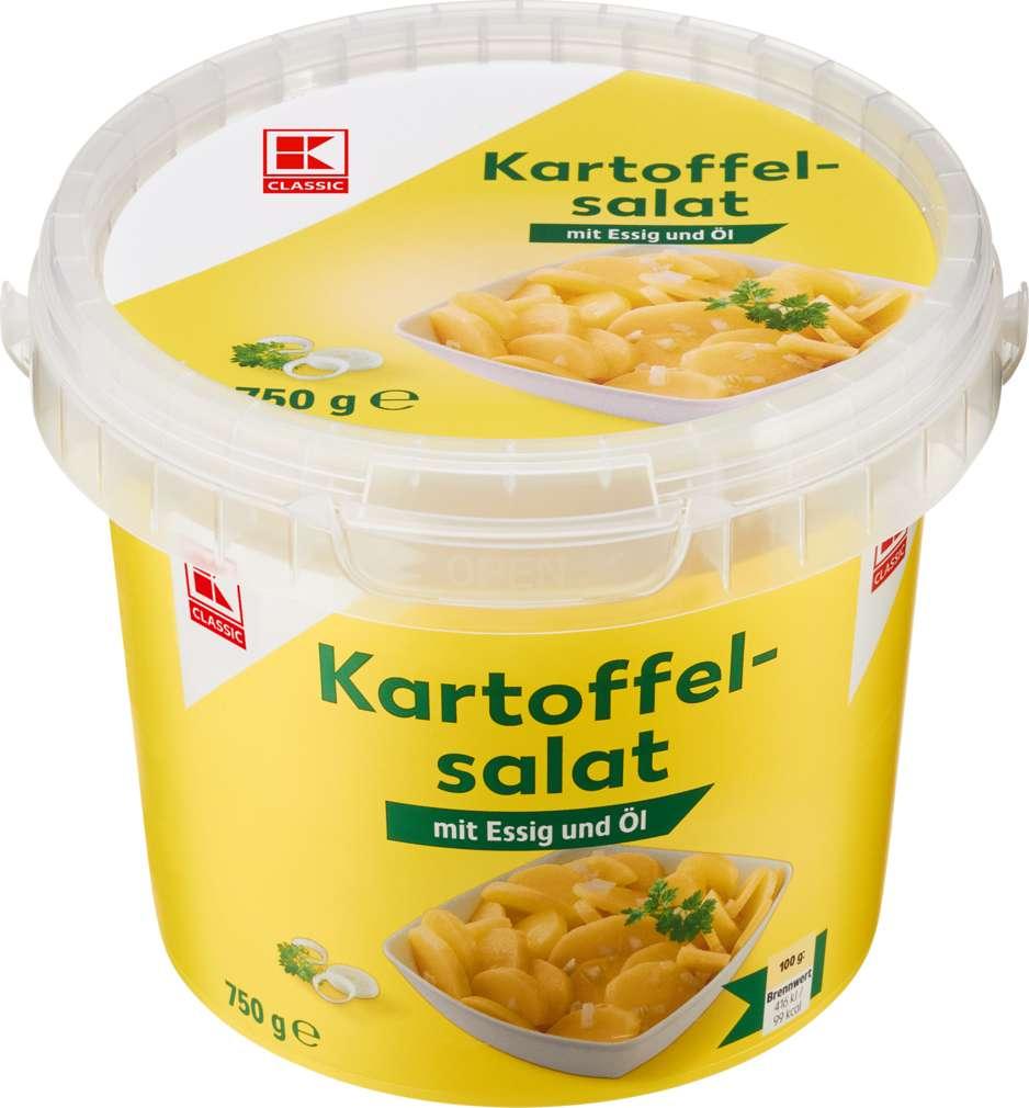 Abbildung des Sortimentsartikels K-Classic Kartoffelsalat Essig & Öl 400g