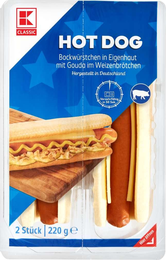 Abbildung des Sortimentsartikels K-Classic Hot Dogs 220g