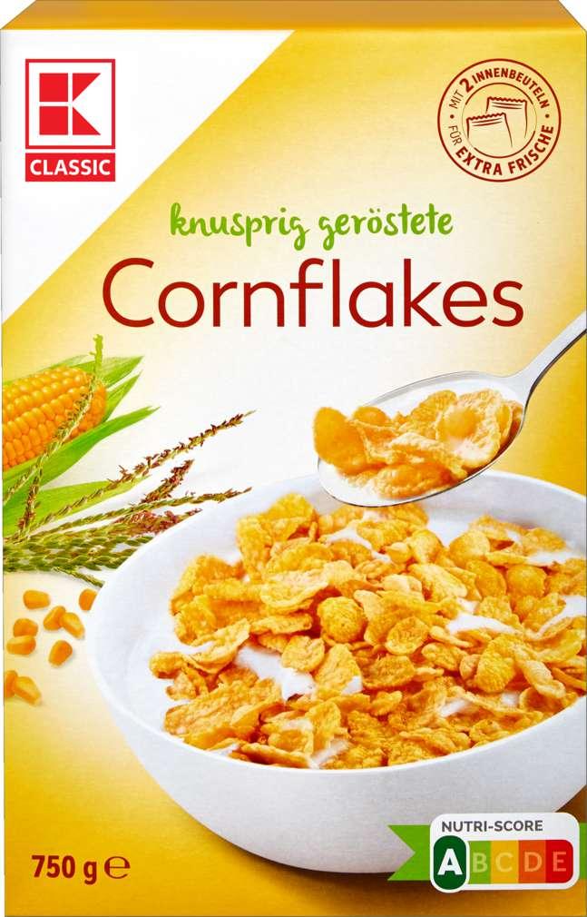 Abbildung des Sortimentsartikels K-Classic Cornflakes 2x375g