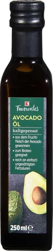 Abbildung des Sortimentsartikels K-Favourites Avocadoöl kaltgepresst 250ml