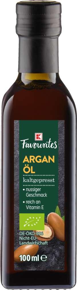 Abbildung des Sortimentsartikels K-Bio Arganöl kaltgepresst 100ml