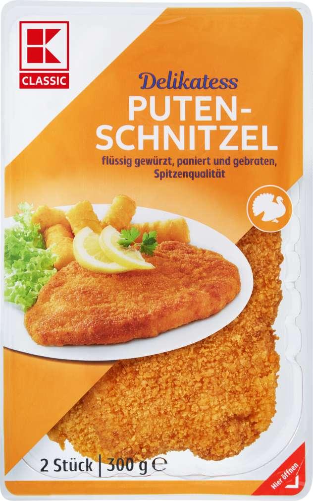 Abbildung des Sortimentsartikels K-Classic Putenschnitzel 2x150g