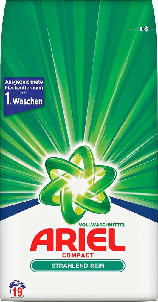 Abbildung des Sortimentsartikels Ariel Compact Vollwaschmittel 19WL=1,425kg