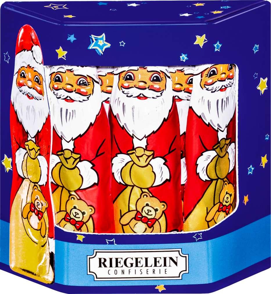 Abbildung des Sortimentsartikels Riegelein Weihnachtsmänner 10x12,5g