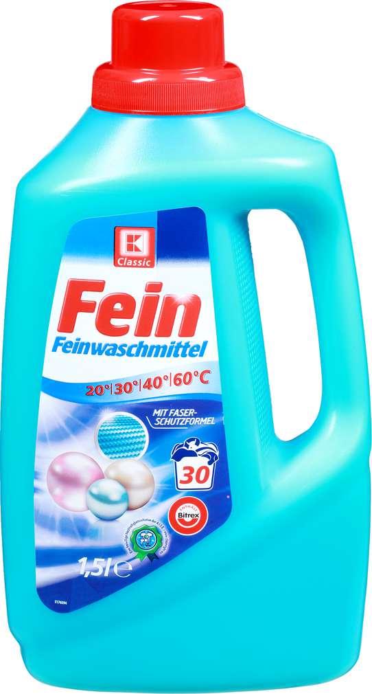 Abbildung des Sortimentsartikels K-Classic Feinwaschmittel 1,5l