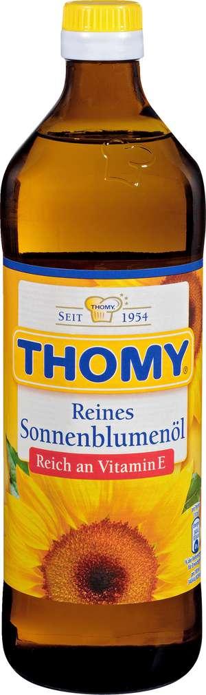 Abbildung des Sortimentsartikels Thomy Reines Sonnenblumenöl 750ml