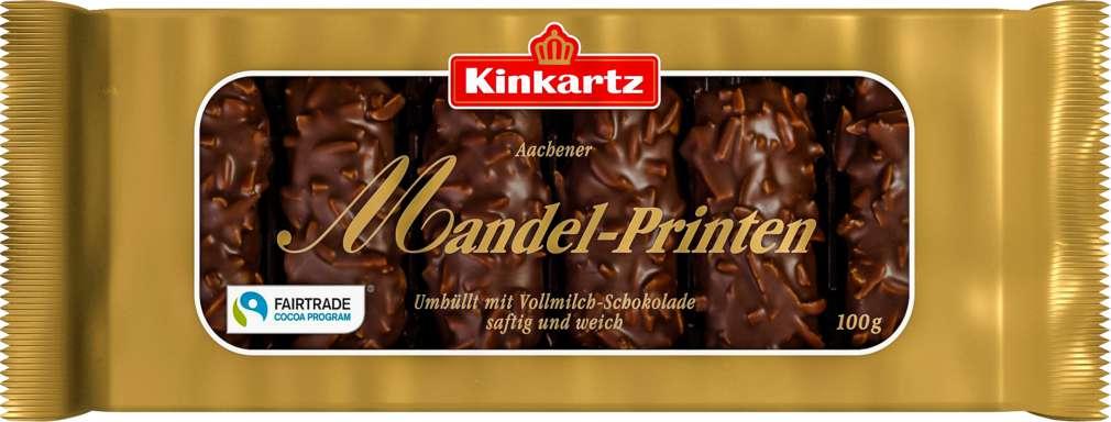 Abbildung des Sortimentsartikels Lambertz Kinkartz Mandelprinten Vollmilch 100g