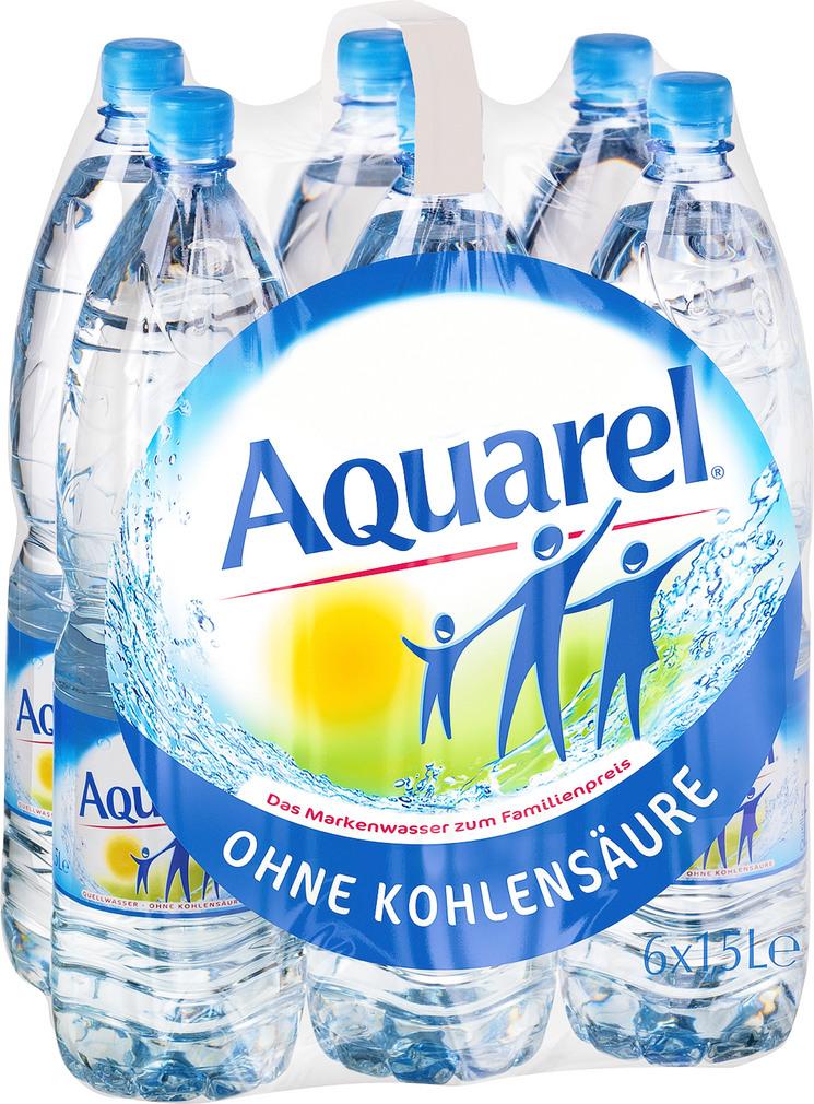 Abbildung des Sortimentsartikels Aquarel Quellwasser classic 6x1,5l
