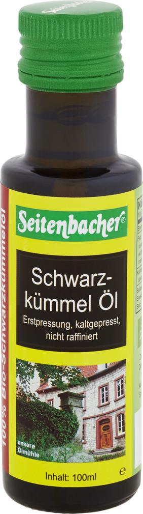 Abbildung des Sortimentsartikels Seitenbacher Schwarzkümmelöl 100ml