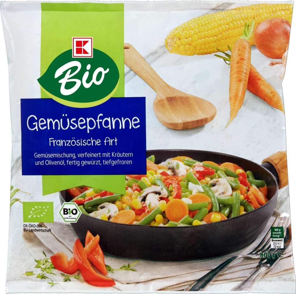 Abbildung des Sortimentsartikels K-Bio Gemüsepfanne Französische Art 600g