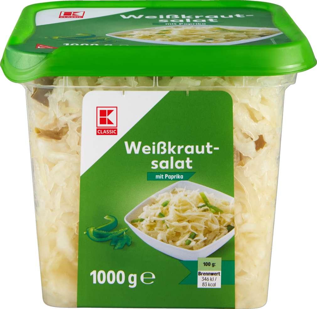 Abbildung des Sortimentsartikels K-Classic Weißkrautsalat 1kg