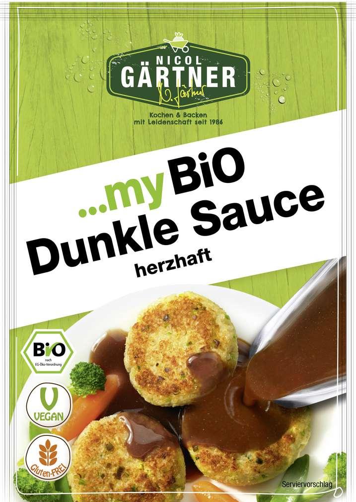Abbildung des Sortimentsartikels Nicol Gärtner Bio-Dunkle Sauce glutenfrei, laktosefrei 30g