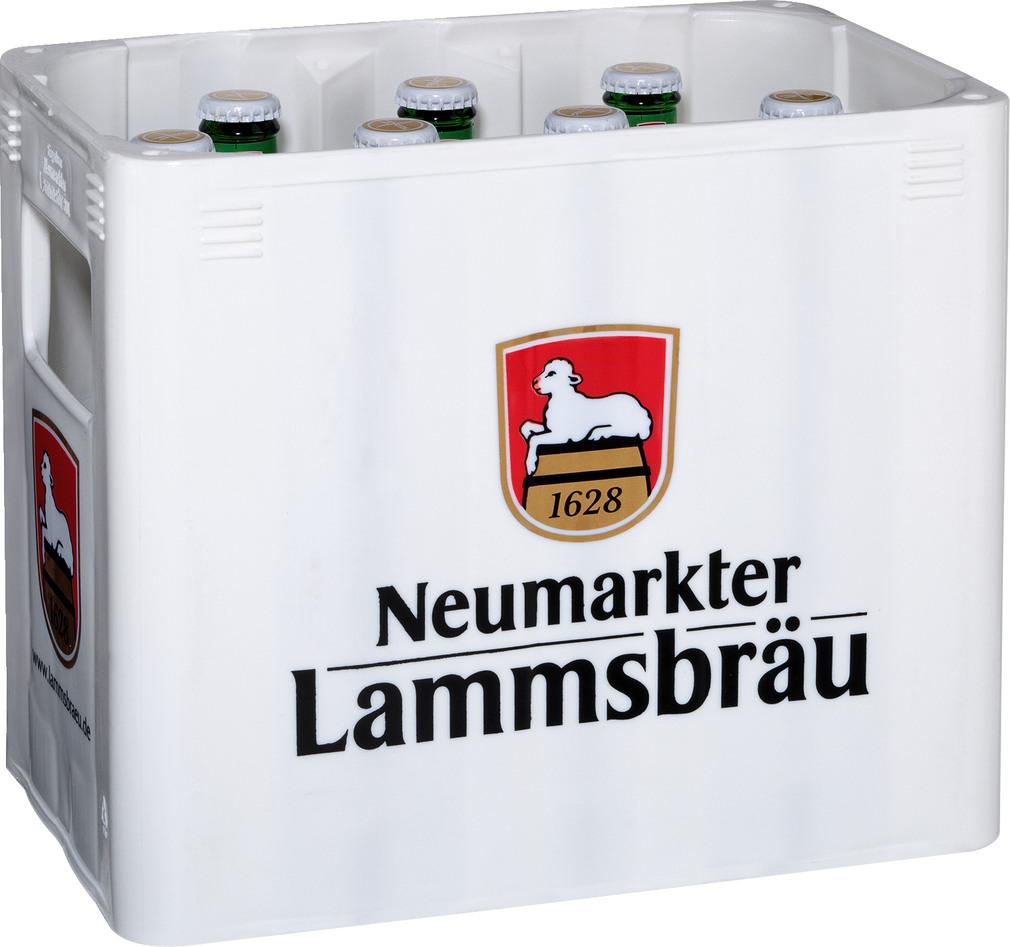 Abbildung des Sortimentsartikels Neumarkter Lammsbräu Glutenfrei 10x0,33l
