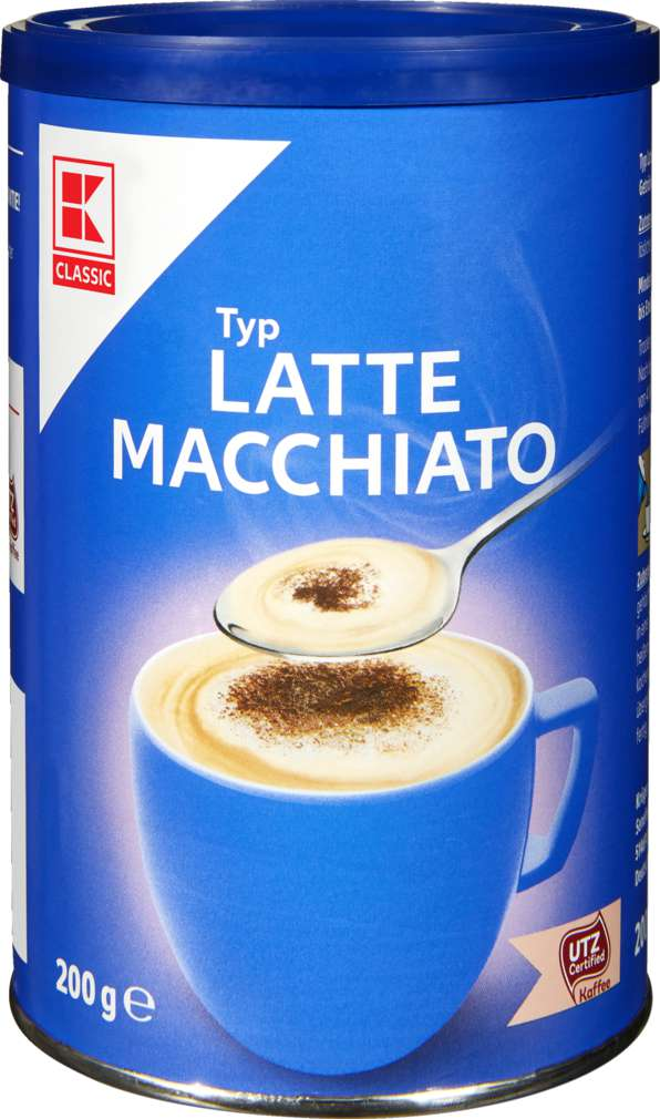 Abbildung des Sortimentsartikels K-Classic Cafe Allegro Latte Macchiato 200g
