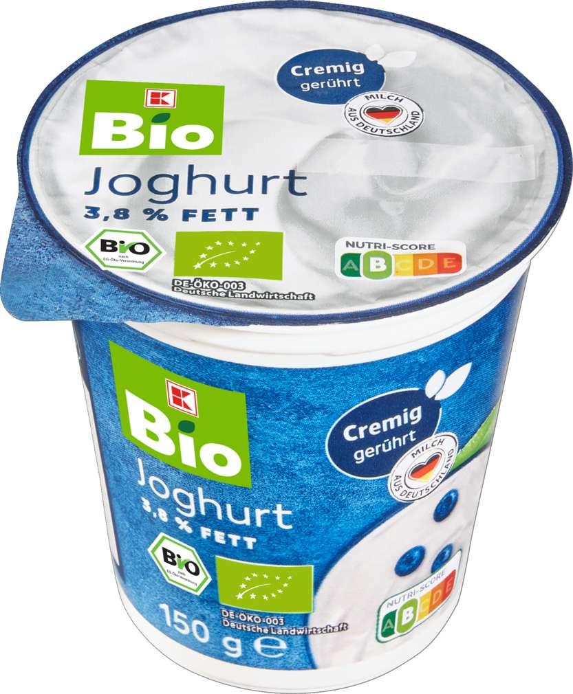 Abbildung des Sortimentsartikels K-Bio Joghurt 3,8% 150g