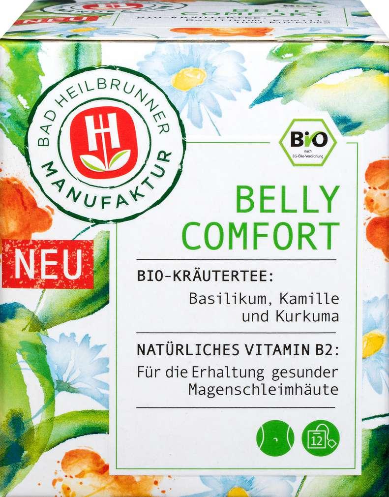 Abbildung des Sortimentsartikels Bad Heilbrunner Bio-Kräutertee Belly Comfort 12x2g