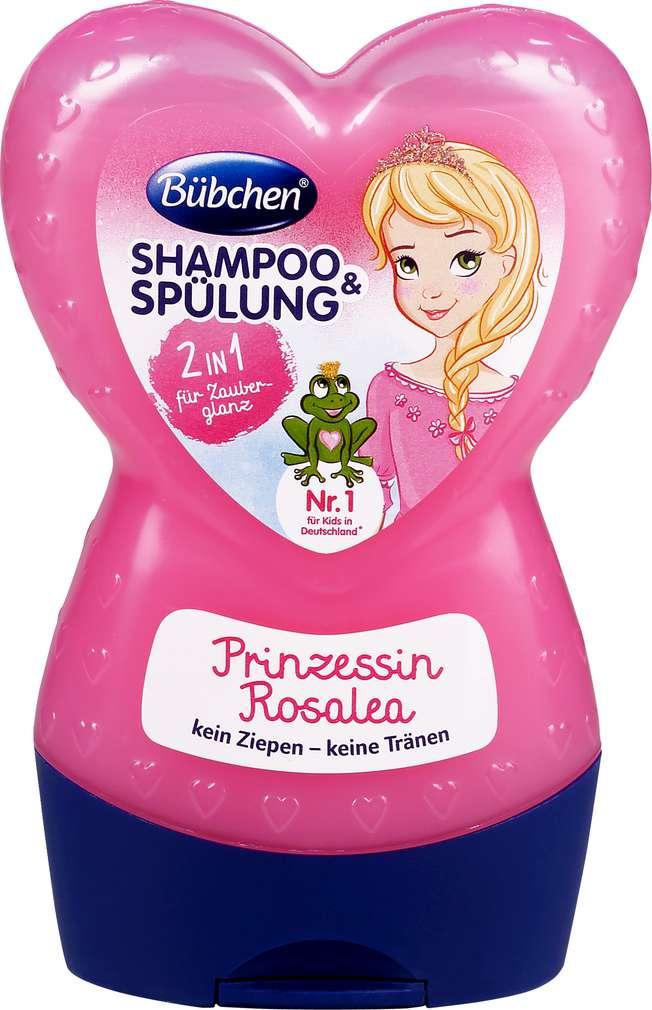 Abbildung des Sortimentsartikels Bübchen Kids Shampoo & Spülung 2in1 Prinzessin Rosalea 230ml