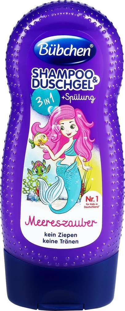 Abbildung des Sortimentsartikels Bübchen Kids Shampoo & Spülung Meereszauber 3in1 230ml