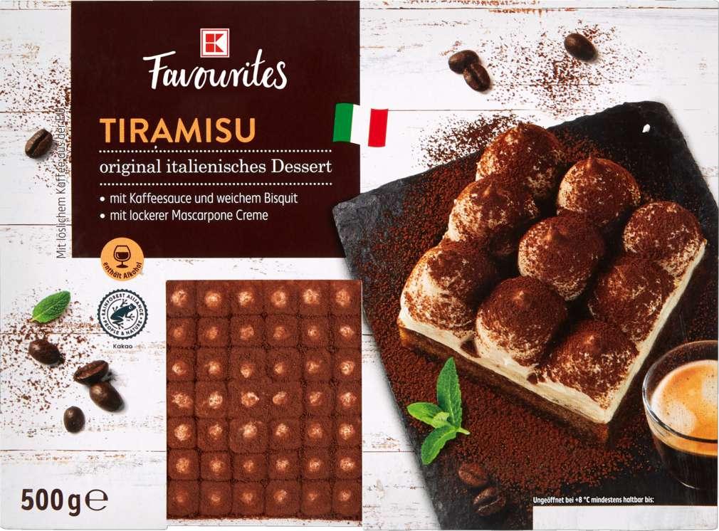 Abbildung des Sortimentsartikels K-Favourites Tiramisu 500g