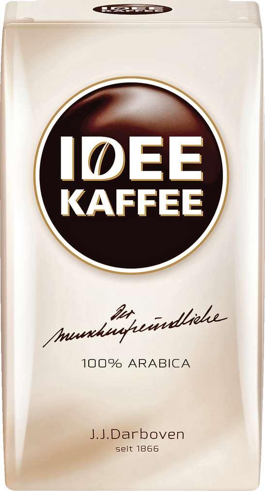 Abbildung des Sortimentsartikels Darboven Idee Kaffee 500g