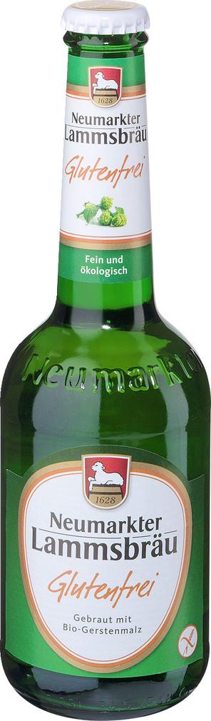 Abbildung des Sortimentsartikels Neumarkter Lammsbräu Glutenfrei 0,33l