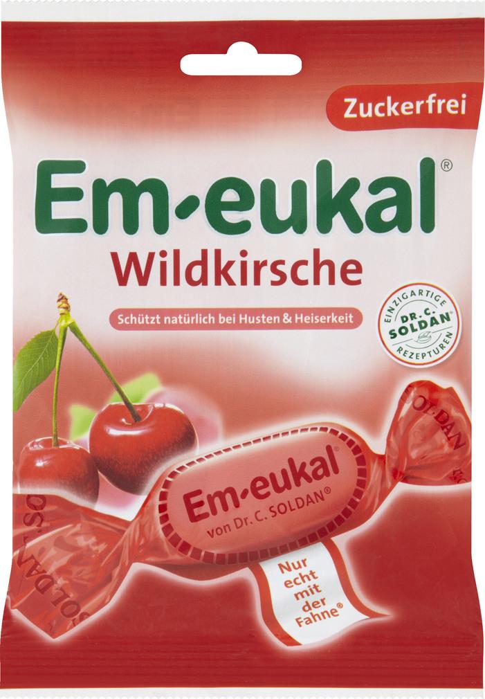 Abbildung des Sortimentsartikels Em-eukal Wildkirsche 75g