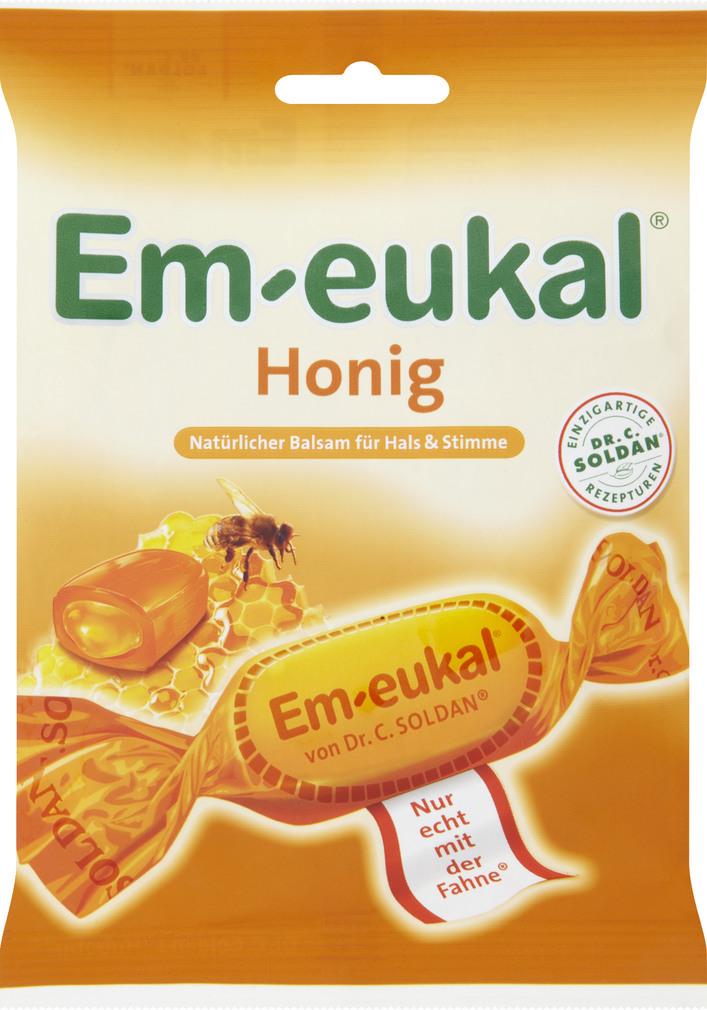 Abbildung des Sortimentsartikels Em-eukal Honig 75g